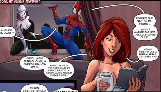 Spiderman em Bygone Blues