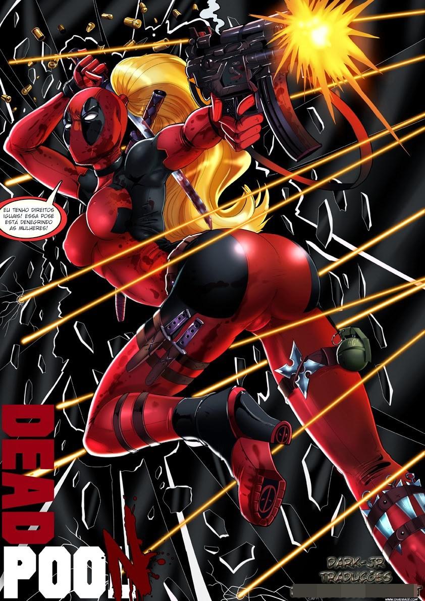 Deadpool quadrinho erótico