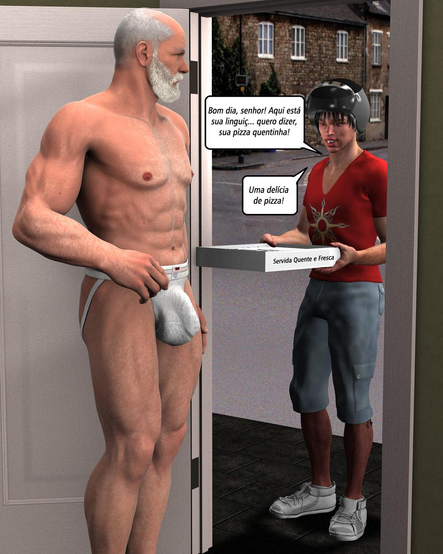 comido pelo entregador gay amadores
