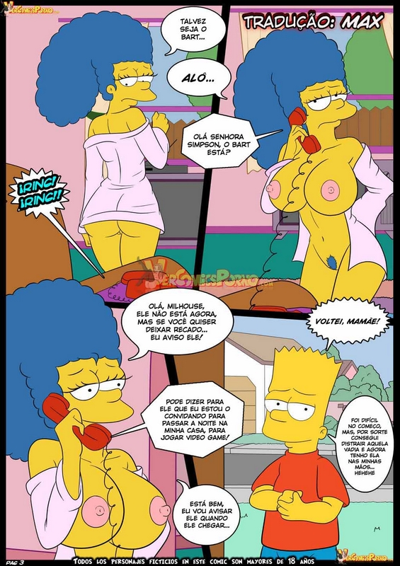 hentai comics Simpsons