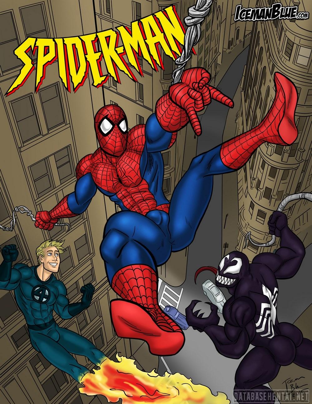 Spider-Man Queimando a Rosca