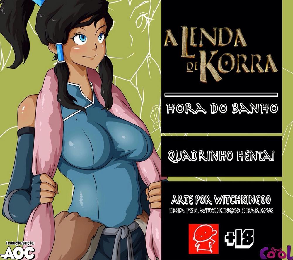 A Lenda De Korra Sexo the legend of korra: bath time - the hentai comics - hentai