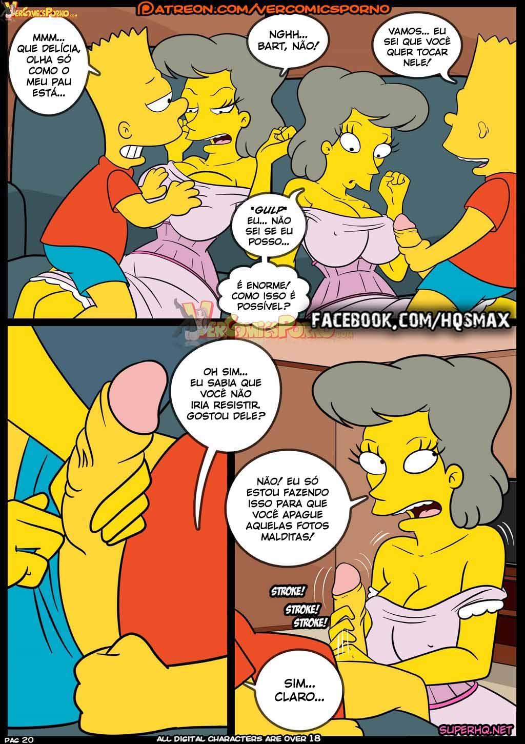 Old Habits 8 - Suruba com todos dessa família incestuosa, os Simpsons