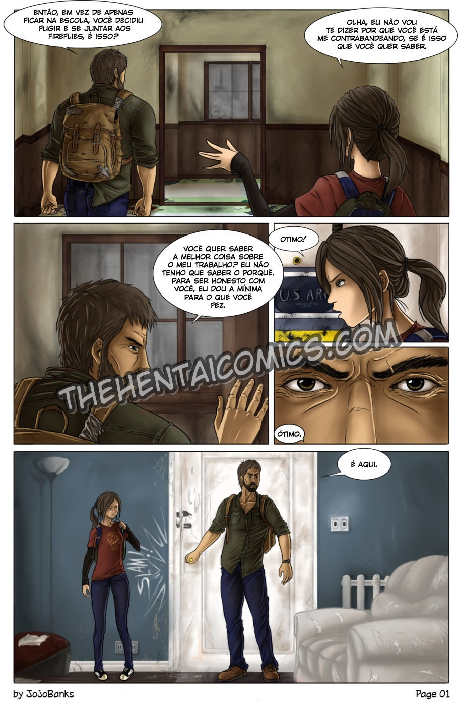 The Last Of Us Hentai